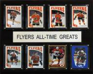 "Philadelphia Flyers 12"" x 15"" All-Time Greats Plaque"