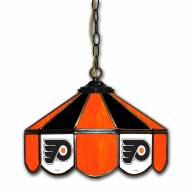 "Philadelphia Flyers 14"" Glass Pub Lamp"