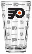 Philadelphia Flyers 16 oz. Sandblasted Pint Glass