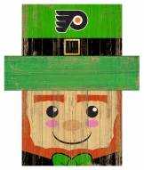 "Philadelphia Flyers 19"" x 16"" Leprechaun Head"