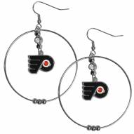 "Philadelphia Flyers 2"" Hoop Earrings"