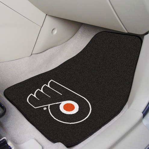 Philadelphia Flyers 2-Piece Carpet Car Mats