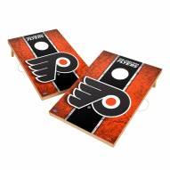 Philadelphia Flyers 2' x 3' Vintage Wood Cornhole Game