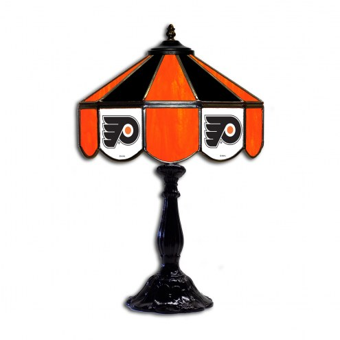 "Philadelphia Flyers 21"" Glass Table Lamp"