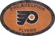 "Philadelphia Flyers 46"" Team Color Oval Sign"