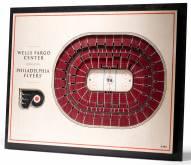 Philadelphia Flyers 5-Layer StadiumViews 3D Wall Art