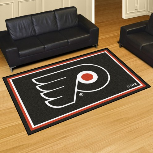 Philadelphia Flyers 5' x 8' Area Rug