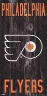 "Philadelphia Flyers 6"" x 12"" Heritage Logo Sign"