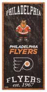 "Philadelphia Flyers 6"" x 12"" Heritage Sign"
