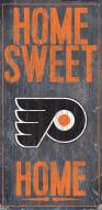 "Philadelphia Flyers 6"" x 12"" Home Sweet Home Sign"