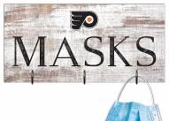 """Philadelphia Flyers 6"""" x 12"""" Mask Holder"""