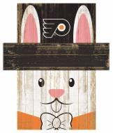 """Philadelphia Flyers 6"""" x 5"""" Easter Bunny Head"""