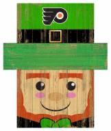 "Philadelphia Flyers 6"" x 5"" Leprechaun Head"