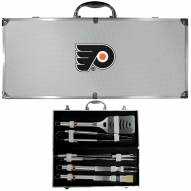 Philadelphia Flyers 8 Piece Stainless Steel BBQ Set w/Metal Case