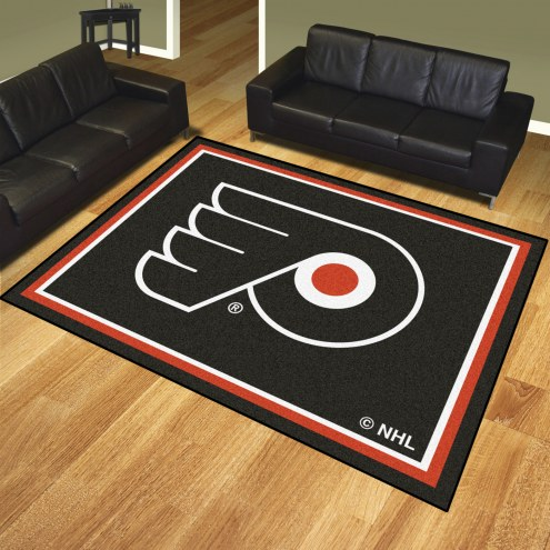 Philadelphia Flyers 8' x 10' Area Rug