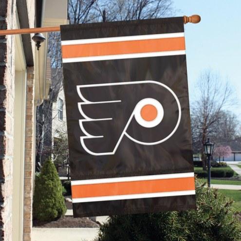 Philadelphia Flyers Applique Banner Flag