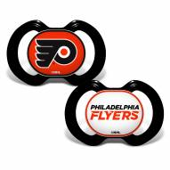 Philadelphia Flyers Baby Pacifier 2-Pack