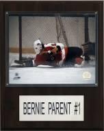 """Philadelphia Flyers Bernie Parent 12"""" x 15"""" Player Plaque"""