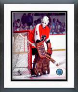 Philadelphia Flyers Bernie Parent Action Framed Photo