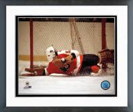 Philadelphia Flyers Bernie Parent Diving Action Framed Photo