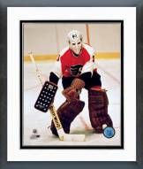 Philadelphia Flyers Bernie Parent Framed Photo
