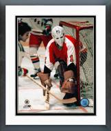Philadelphia Flyers Bernie Parent In net Framed Photo