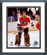 Philadelphia Flyers Bernie Parent Without Face Mask Framed Photo