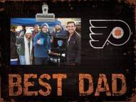 Philadelphia Flyers Best Dad Clip Frame