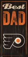 Philadelphia Flyers Best Dad Sign