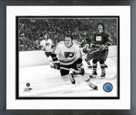 Philadelphia Flyers Bill Barber Action Framed Photo