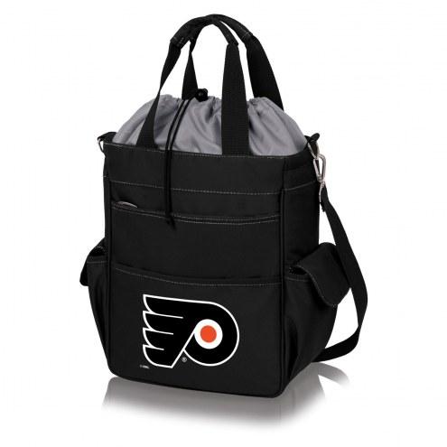 Philadelphia Flyers Black Activo Cooler Tote