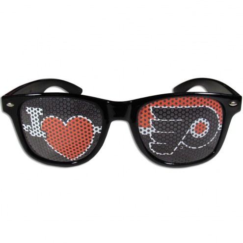 Philadelphia Flyers Black I Heart Game Day Shades
