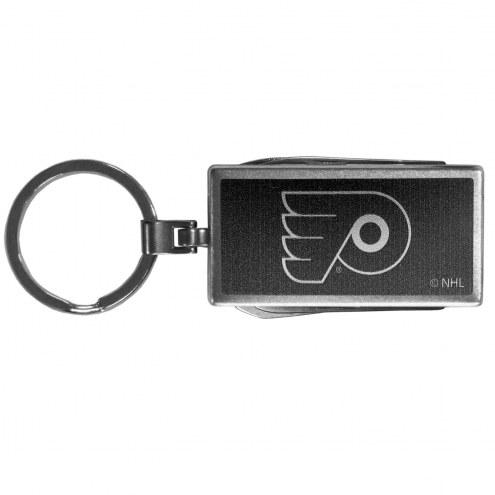 Philadelphia Flyers Black Multi-tool Key Chain
