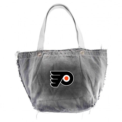 Philadelphia Flyers Black NHL Vintage Tote Bag