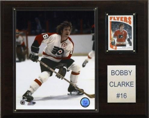 "Philadelphia Flyers Bobby Clarke 12"" x 15"" Player Plaque"