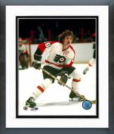 Philadelphia Flyers Bobby Clarke One Hand On Stick Framed Photo