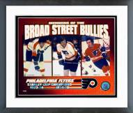 Philadelphia Flyers Broad Street Bullies Framed Photo