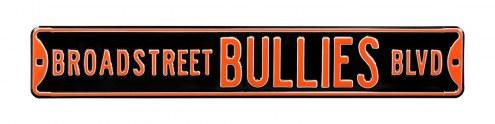 Philadelphia Flyers Broad Street Bullies Street Sign