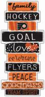 Philadelphia Flyers Celebrations Stack Sign