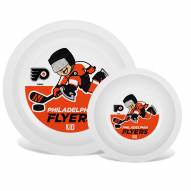 Philadelphia Flyers Children's Plate & Bowl Set
