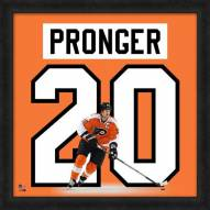 Philadelphia Flyers Chris Pronger Uniframe Framed Jersey Photo