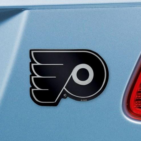 Philadelphia Flyers Chrome Metal Car Emblem