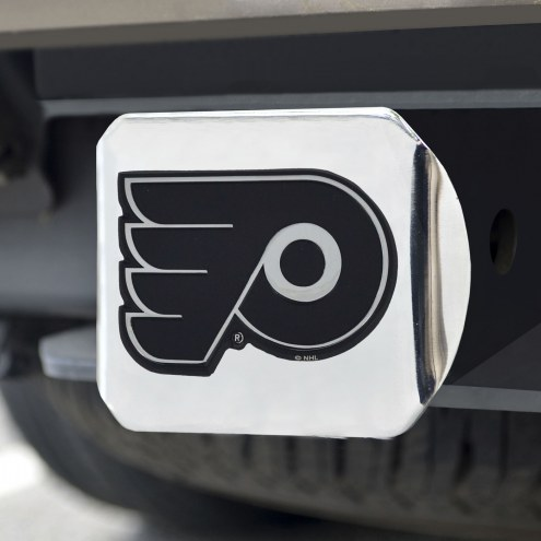 Philadelphia Flyers Chrome Metal Hitch Cover