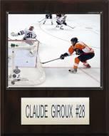 """Philadelphia Flyers Claude Giroux 12"""" x 15"""" Player Plaque"""