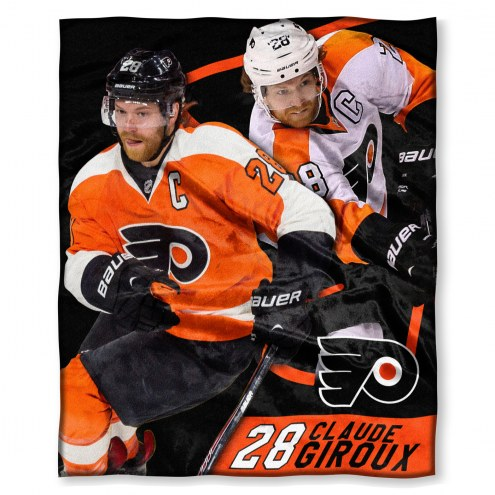 Philadelphia Flyers Claude Giroux Silk Touch Blanket