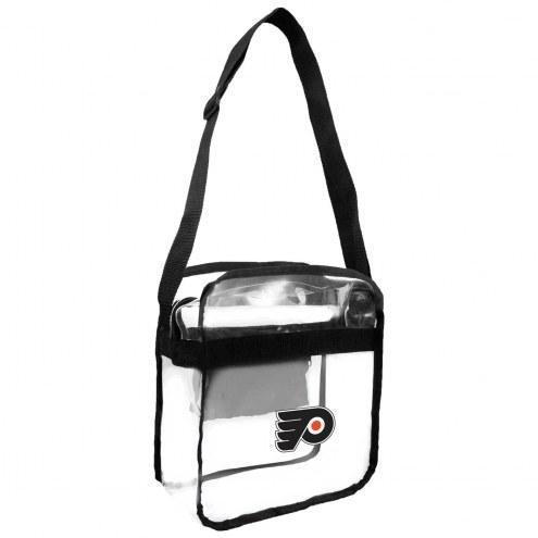 Philadelphia Flyers Clear Crossbody Carry-All Bag