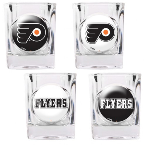 Philadelphia Flyers Collector's Shot Glass Set
