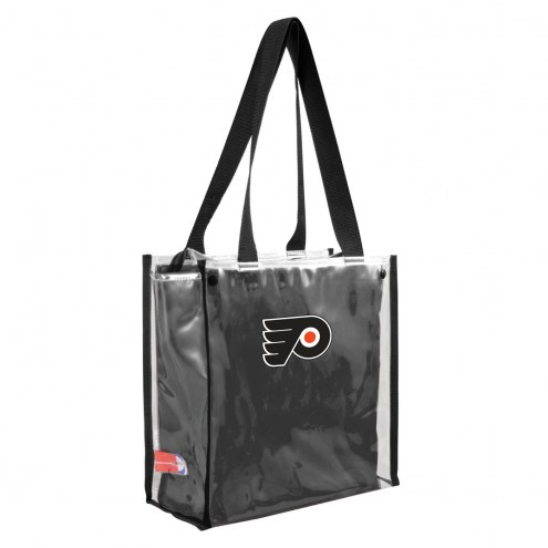 Philadelphia Flyers Convertible Clear Tote