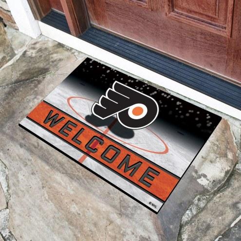 Philadelphia Flyers Crumb Rubber Door Mat