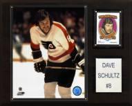 "Philadelphia Flyers Dave Schultz 12"" x 15"" Player Plaque"